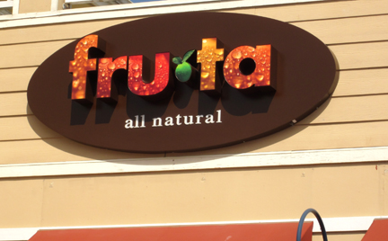 Santa Rosa Electrical Sign Fruta